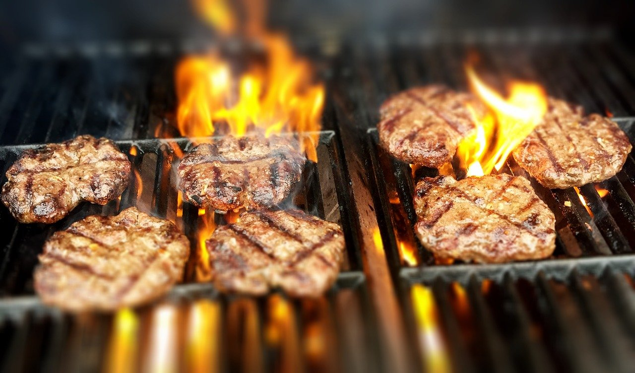 manger un barbecue