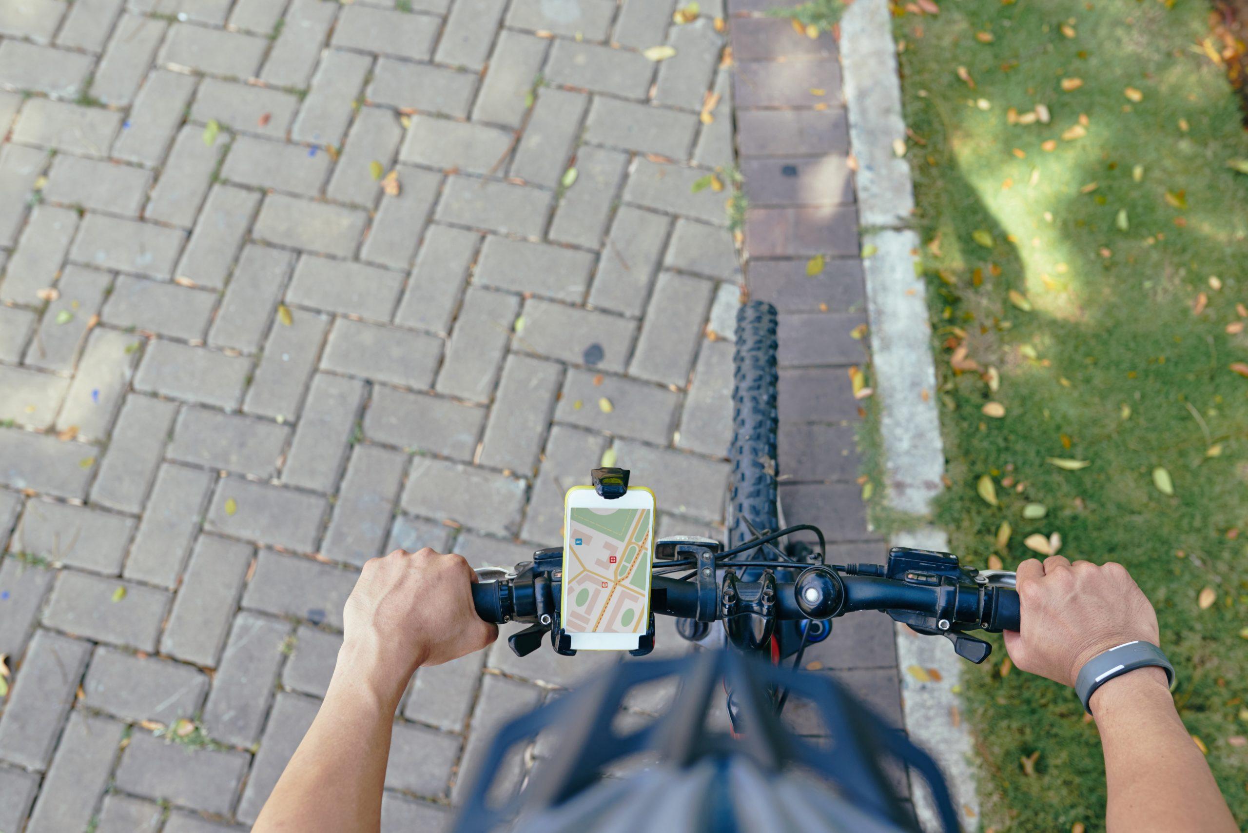 calcul itinéraire vélo compteurs GPS