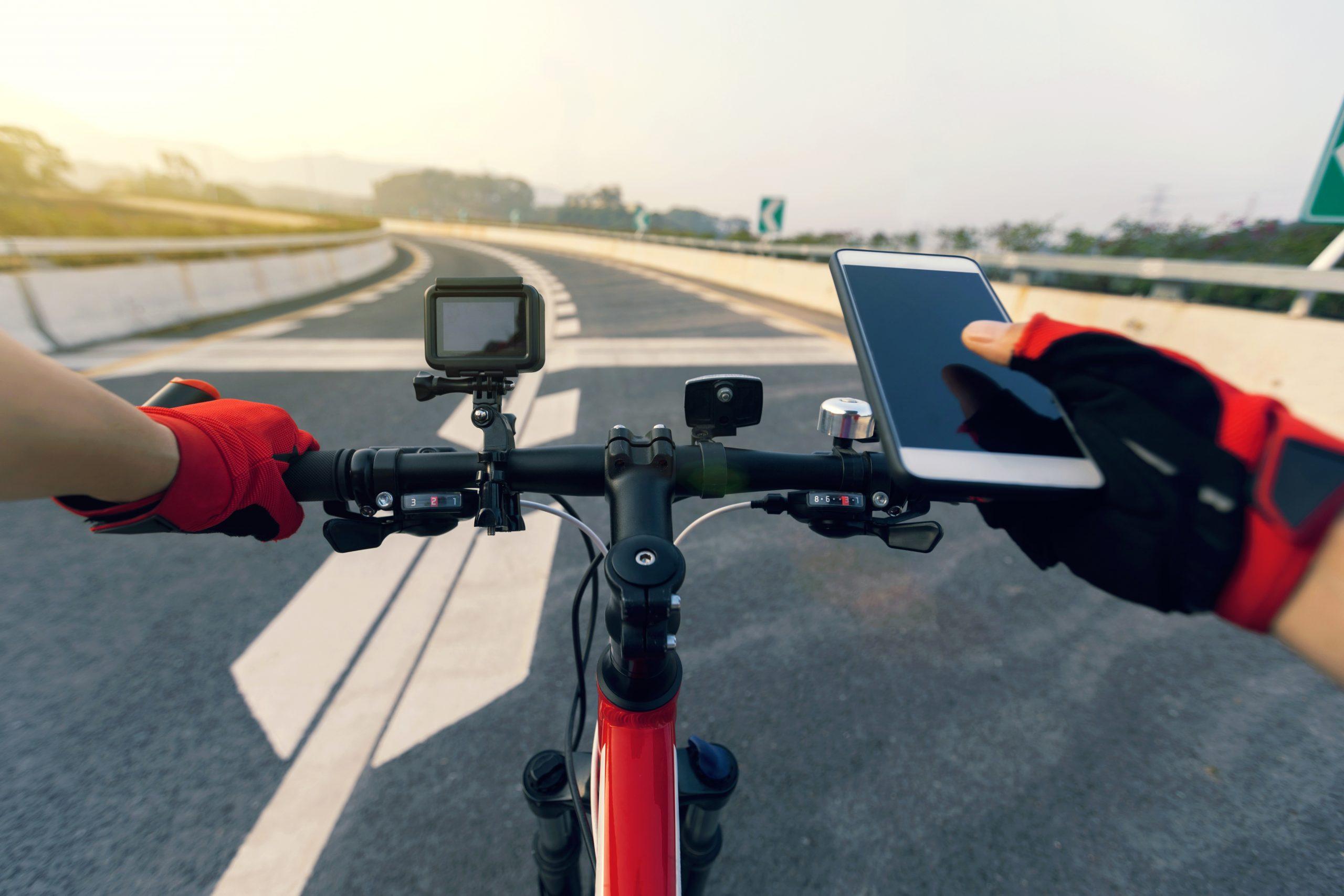 calcul itinéraire vélo applications gratuites